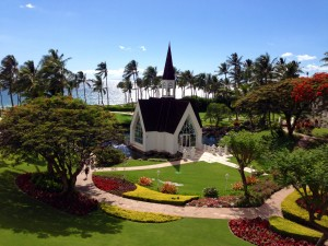 The Famous Grand Wailea Chapel